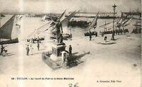 CPA 83 TOULON  le carré du port et le génie maritime