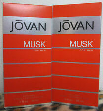 JOVAN MUSK  3.0 OZ / 88 ML COLOGNE SPRAY NEW IN BOX FOR MEN