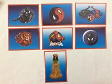 7 FIGURINE ADESIVE SPIDER-SENSE SPIDER-MAN  PANINI MARVEL lot 55