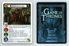 Euron Crow's Eye #F 29 A Game Of Thrones The Grand Melee 2011 LCG Card