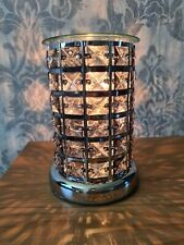 Electric Aroma Lamp Wax Tart Wax Melt Oil Warmer Gift Black Crystal