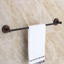 Bathroom Accessories Single Towel Bar Black Oil Rubbed Bronze Wall Mounted