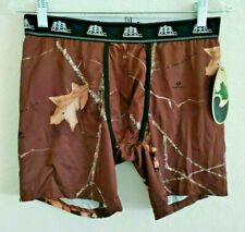 Mossy Oak Outfitters Tallwoods Men's Camo Performance Boxer Briefs Size Xl Nwt!
