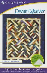Dream Weaver Quilt Pattern by Cozy Quilt Designs
