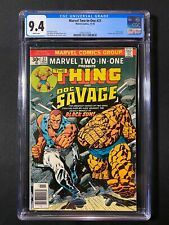 Marvel Two-In-One #21 CGC 9.4 (1976) - Thing & Doc Savage