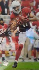 Larry Fitzgerald Signed 8x10 Football Photo Arizona Cardinals NFL With COA