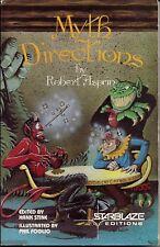 Myth Directions by Robert Asprin Starblaze Paperback 1982 SIGNED BY ASPRIN