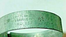 """57 58 59 Corvette General Motors 443634 WITTEK   # 63 1-3/4""""-2"""" HOSE CLAMP NOS"""
