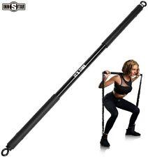 "38"" Innstar Non detachable Resistance Bar Max Load 800lb For Home Gym Black"