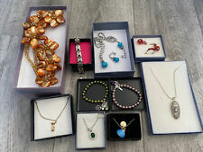 job lot costume jewellery All Wearable In Boxes As Shown