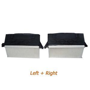 For Mercedes GL ML S-CLASS GL350 ML350 S350 Left Right Air Filter Set 6420940000