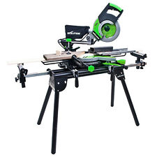 Mitre Saw Bench with Extensions Universal Chop Evolution Table Stand Workstation