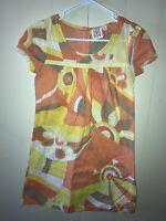 34cba3118d4dd0 Roxy Juniors Dress Size 3 Casual Spring Summer Beach Floral Short Sleeve