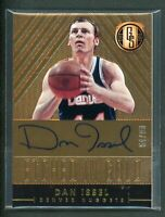 2014-15 DAN ISSEL 54/99 AUTO PANINI GOLD STANDARD ETCHED IN GOLD AUTOGRAPHS