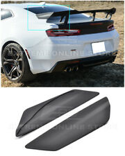 For 16-Up Camaro ZL1 1LE Style Rear Trunk Spoiler | Side Winglets Replacement