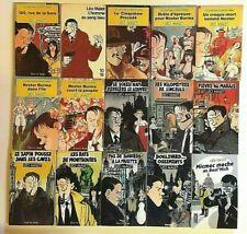 17 livres LEO MALET Nestor Burma roman policier détective enquête Tardi