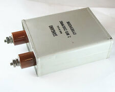 1x 2mfd 2500VDC Hermetically Sealed Oil Capacitor 2uf 2500V 2,500 Volts DC 2 uF