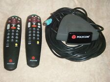 Polycom Viewstation 2201-10076-001 Infrared Receiver & 2 Remotes EX, FX & VS4000