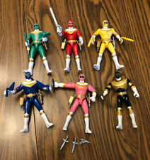 1996 Bandai Power Rangers Zeo 5.5? Figures Set w/ Accessories Lot