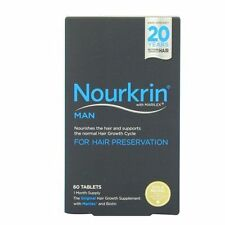 Nourkrin Man for Hair Preservation 60 Tablets Exp 06 16