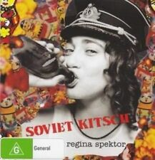 Regina Spektor Soviet Kitsch DVD PAL Region 4 Aust Post