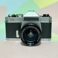 Chinon CX 35mm Slr Film Camera, 28mm f2.8 Lens meter working! Tested lomo! Retro