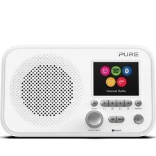 Pure Elan IR5 DAB/Bluetooth Radio, White, EU/UK