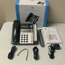 Atampt Black 1040 12 Vdc 500 Ma Small Business System 4 Line Corded Telephone
