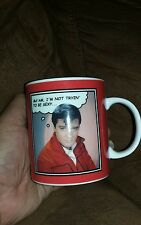 2006 ELVIS PRESLEY COFFEE MUG, ALL SHOOK UP, ENTERPRISES SIGNATURE PRODUCT
