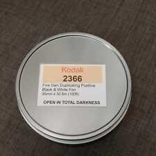 35mm -Kodak 2366 Fine Grain, BW film, 100ft bulk