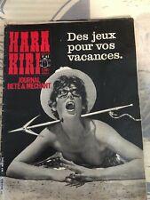 HARA KIRI n° 41. Juillet 1964.