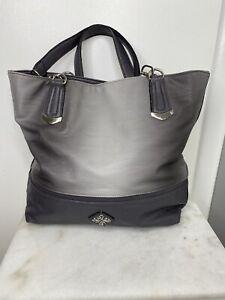 Simply Vera Wang Gray and Silver Shoulder Strap Purse, Handbag, Tote RN73277