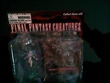 More details for final fantasy figure set of 2 creatures yunalesca cerberus damaged box sealed
