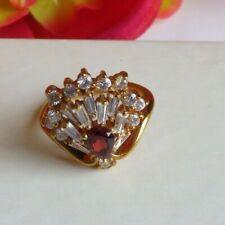 Cocktail Cluster Ring Jewelry Size 6  14K H.G.E Fashion (AK158)