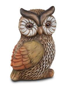 Deko Eule Uhu Kauz Garten Tier Vogel Figur Skulptur Schleiereule Schneeeule