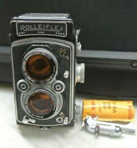 Rolleiflex DRP DRGM CAMERA ZEISS 1:3.5 f7.5 LENS - HEAVY WEAR