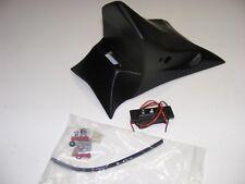 support de plaque noir mat + éclairage led JMV pour HONDA 600 HORNET 2011-13