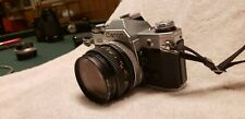 Canon Ae1 Film Camera, Lens, Flashes, and accessories