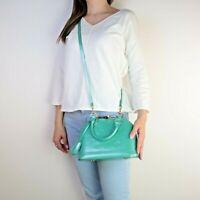 Louis Vuitton Turquoise (Bleu Lagon) Monogram Vernis Alma BB Bag