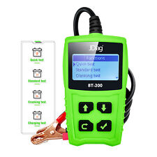 Car Battery Load Testers 12V CCA Automotive Bad Cell Test Tool JDiag BT200 Green