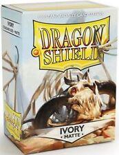 Dragon Shield 11017 Custodie Standard opache Color Avorio (100 Custodie) - NU