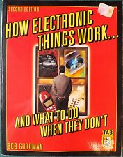 HOW ELECTRIC THINGS WORK AND WHAT TO DO WHEN THEY DON'T. VGC.