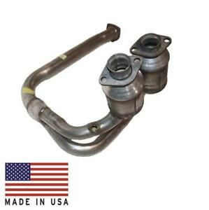 New Catalytic Converter Made in USA for Jeep Wrangler 4.0L Y Pipe 2001-2003