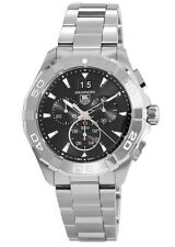New Tag Heuer Aquaracer 300M Chronograph 43mm Black Men's Watch CAY1110.BA0927