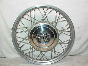 "BMW Air Head 1.85 X 19"" Front SPOKE Drum Brake Wheel Rim R75/5 R60/5 R50/5 R60/6"