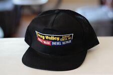 Rare Vtg Tracy Valley Service Center Diesel Mesh Trucker Snapback Hat Cap