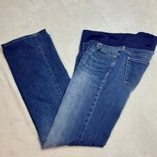 Gap Maternity Long and Lean Medium Wash Jeans-Women's Size 8/12
