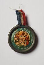 Insigne Fleurette Ancienne Décoration ORPHELINAT DE MOBILISATION ST. ÉTIENNE