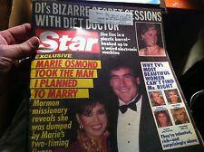 10916  VINTAGE STAR MAGAZINE 1986 MARIE OSMAN KATE JACKSON DONNA MILLS DEIDRE HA