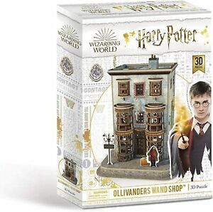 Harry Potter ~ Ollivanders Wand Shop ~ 3D Jigsaw Puzzle 66 Pieces